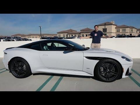 The Aston Martin DBS Superleggera Is Aston's $350,000 Flagship Model