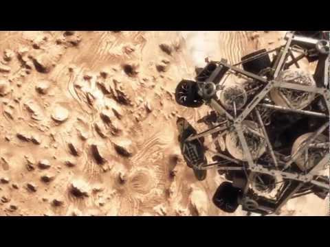 Mars landing simulation by NASA's Jet Propulsion Laboratory