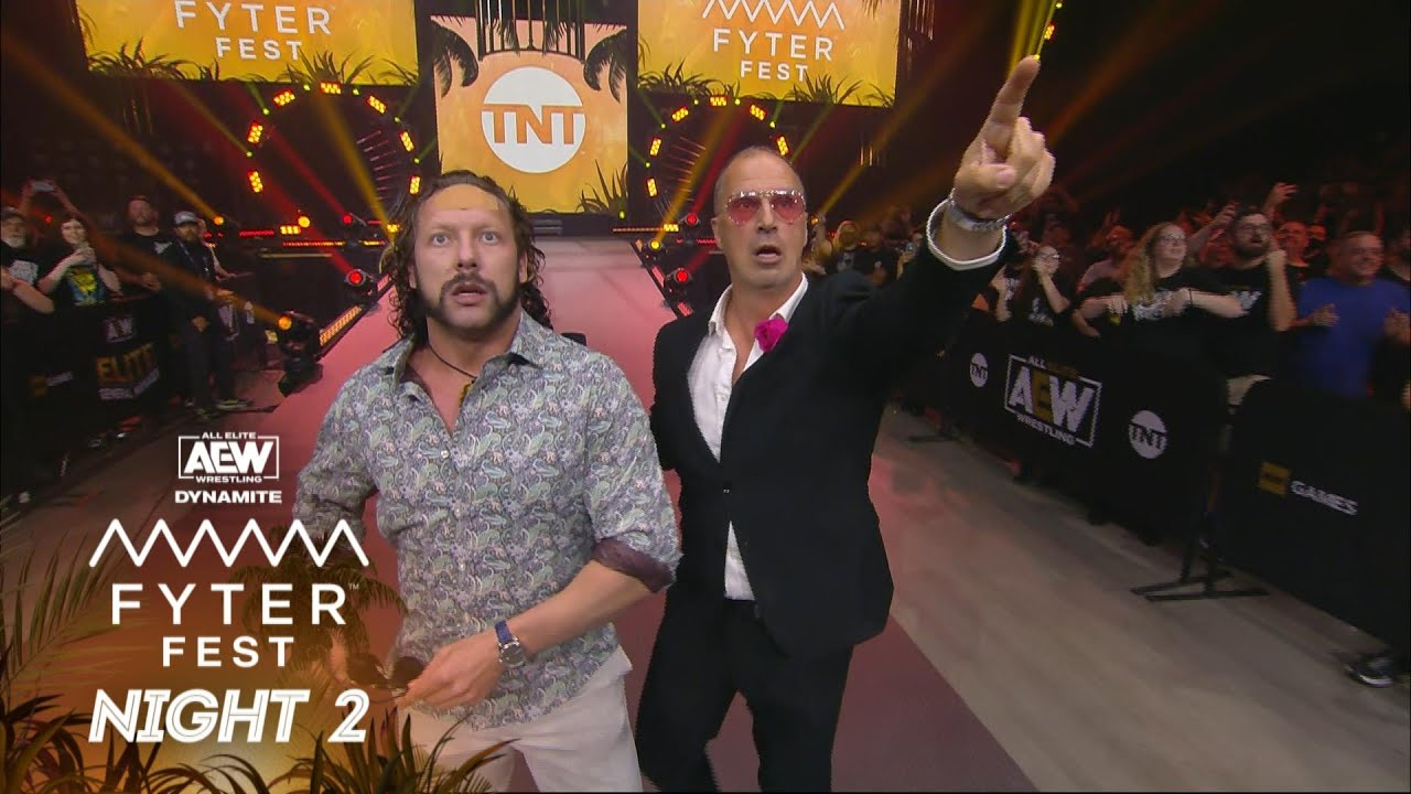 The Elite and Hangman Page War of Words. What's Next? | AEW Fyter Fest Night 2, 7/21/21