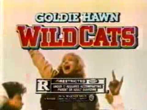 Goldie Hawn in Wildcats 1986 TV trailer