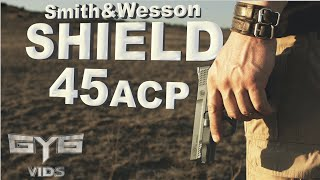 Shield 45 acp Handgun [ FULL REVIEW & TORTURE TEST ]