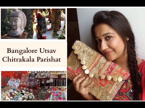 Chitrakala Parishat Ll Bangalore Utsav 2017 Ll Shopping Haul Ll Glitz Poonam