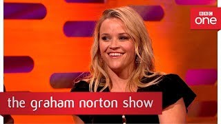 connectYoutube - Donald Trump steals Reese Witherspoon's speech - The Graham Norton Show: 2017 - BBC One