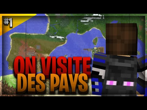 JE VISITE DEUX GROS PAYS SUR NATIONSGLORY | NationsGlory Sigma - Épisode 1 | Minecraft BE | Titidung