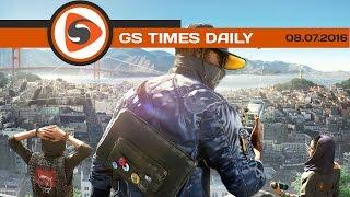 GS Times [DAILY]. Какой будет физика машин в Watch Dogs 2?