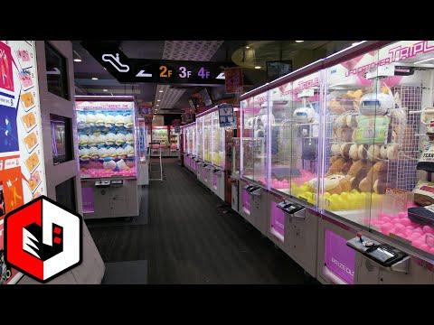 Checking Out Round1 Ikebukuro in Japan! Arcade Games Walkthrough