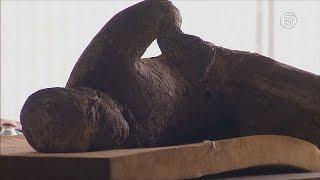 Останки жителей Помпеев исследуют с помощью томографа (новости)
