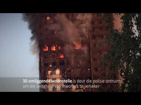 Talle sterf in vlammehel in Londen