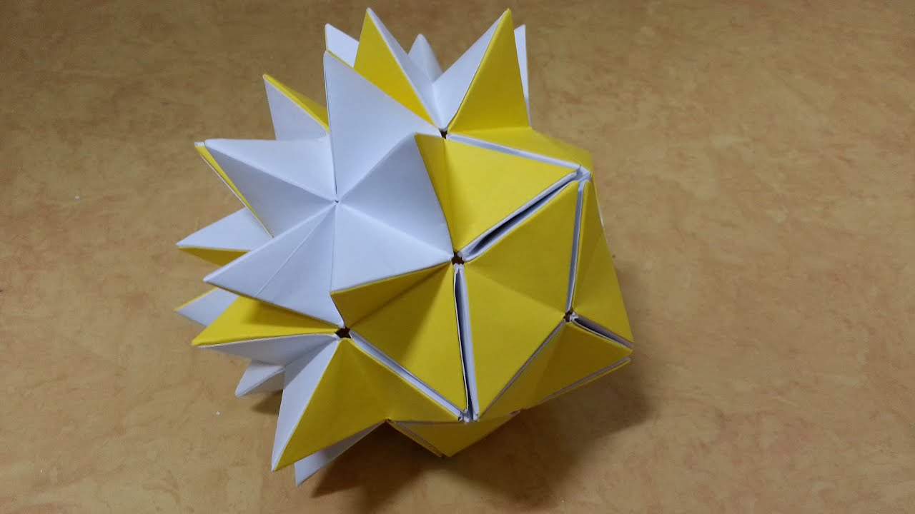 133 origami ������� popup star �� ����� 60�� 30�� �������