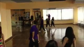 Video Phone - Ali Rezar's Jazz class for Adult(Another routine of Beyonce's