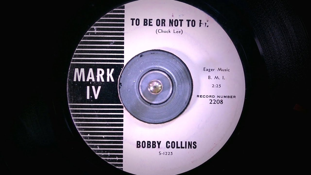 Bobby Collins To Be Or Not To Be 1961 Youtube