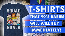 48 Nostalgia Graphic Tee Shirts That 90's Babies Will Want to Buy