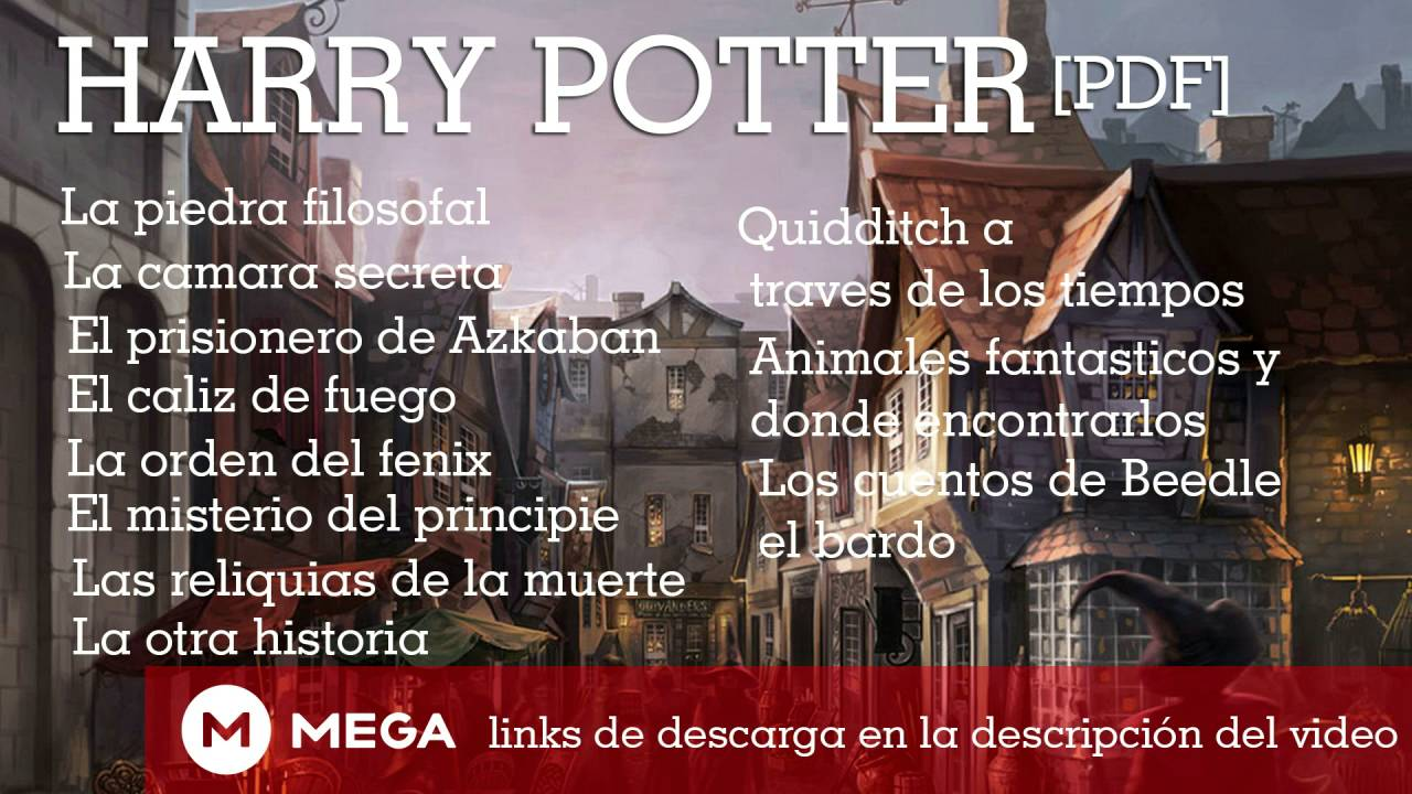 Descargar gratis libros de harry potter.