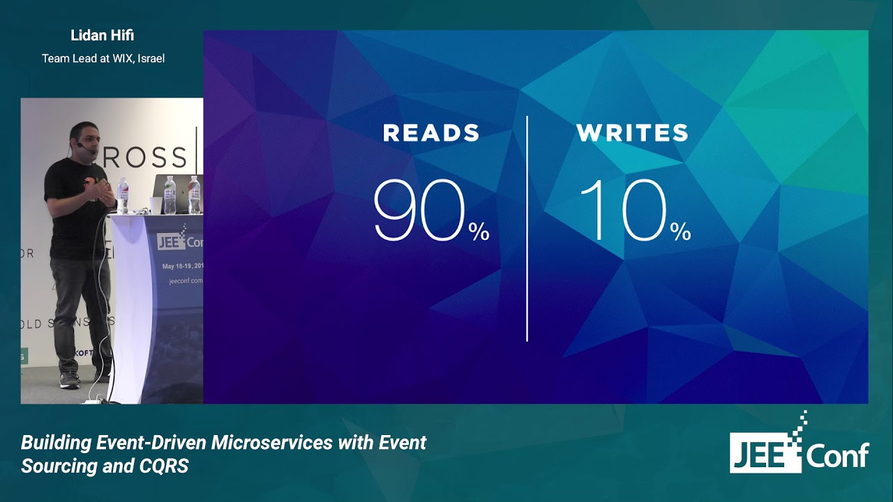 Building Event-Driven Microservices with Event Sourcing and CQRS (Lidan  Hifi, Israel)