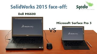 Desafio SolidWorks: Microsoft Surface Pro 3 vs Dell M6600(, 2015-10-29T17:01:30.000Z)