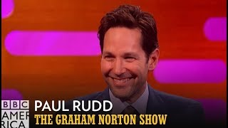 Paul Rudd Knows How Ant-Man Can Defeat Thanos | The Graham Norton Show | BBC America