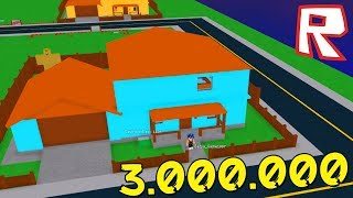 MY NEW HOUSE for 3 MILLION RUBLES • Roblox
