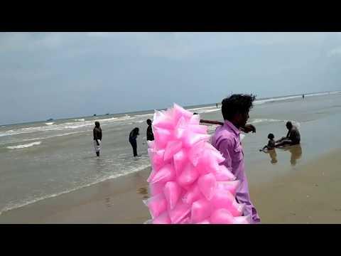 Beautiful site of Velakanni beach at Nagapatinam, Tamilnadu