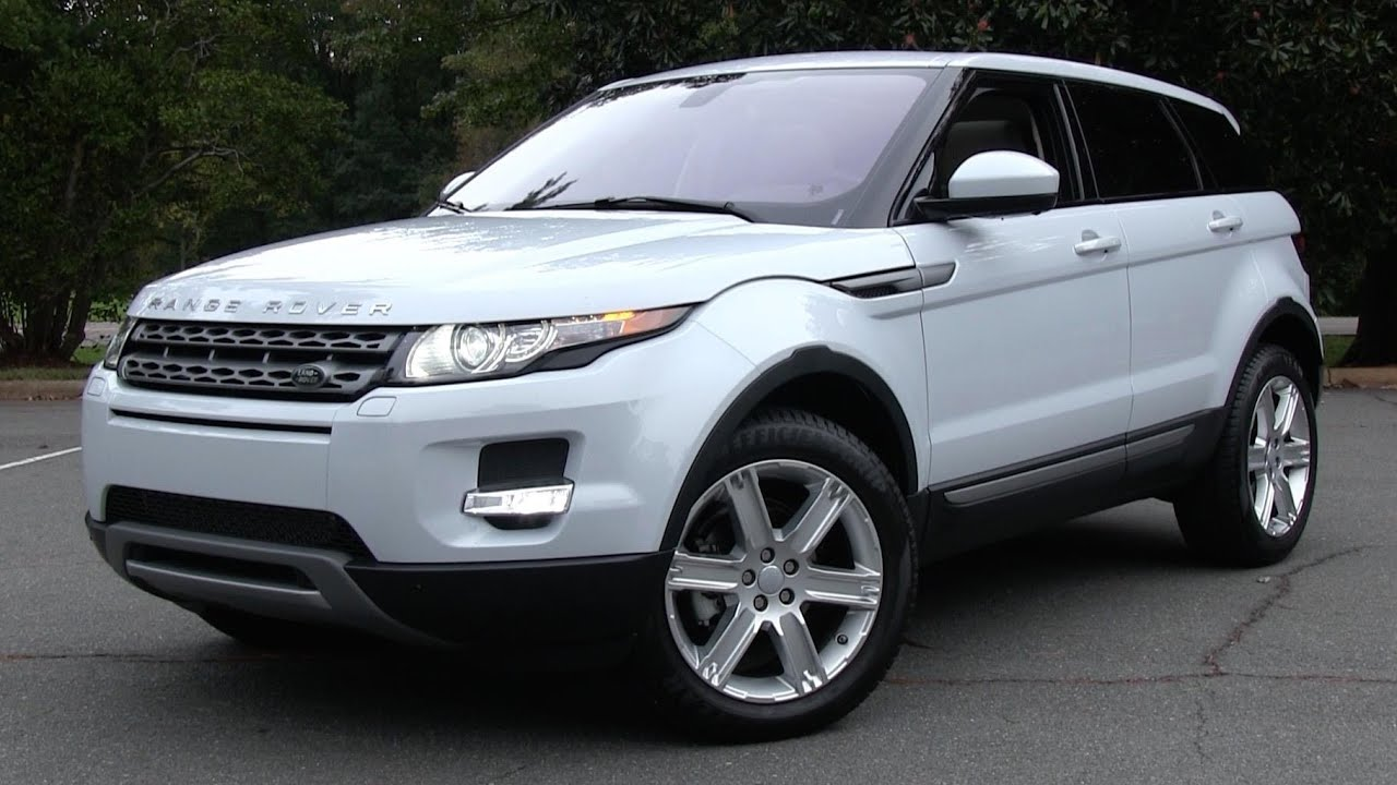 2015 Land Rover Range Rover Evoque Pure >> 2015 Land Rover Range Rover Evoque 5-Door Start Up, Road Test, and In Depth Review - YouTube