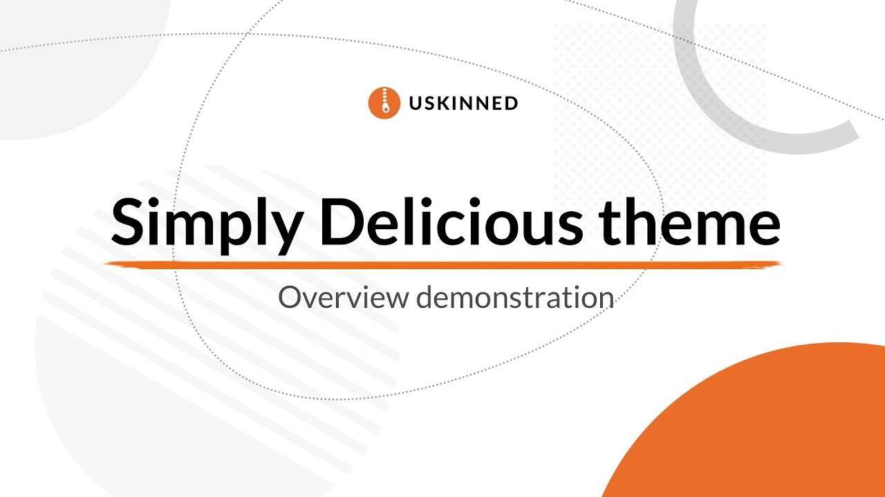 Umbraco CMS Starter Kit with Bootstrap theme - Simply Delicious by