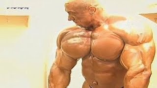Markus Ruhl pumping up before Mr. Olympia - Crazy Mass Monster - RARE VIDEO
