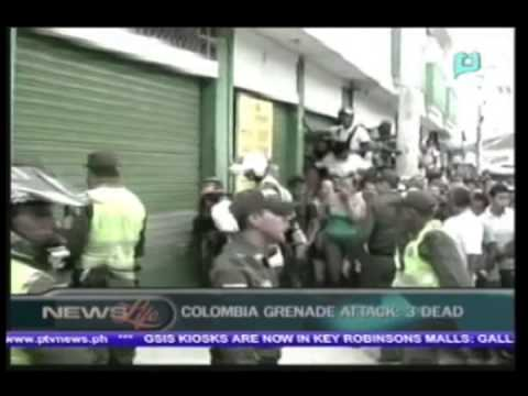 [One Global Village] - 3 killed in grenade attack on Colombia supermarket