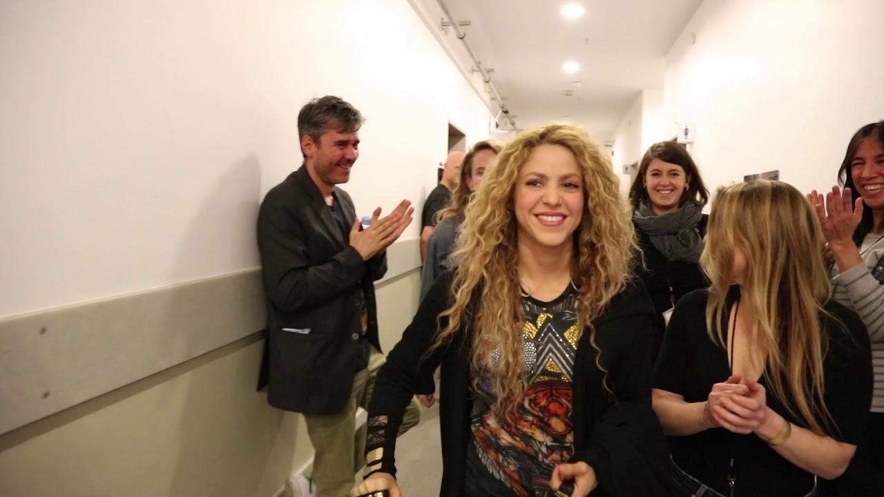 Shakira - El Dorado World Tour First Show: Behind-the-scenes