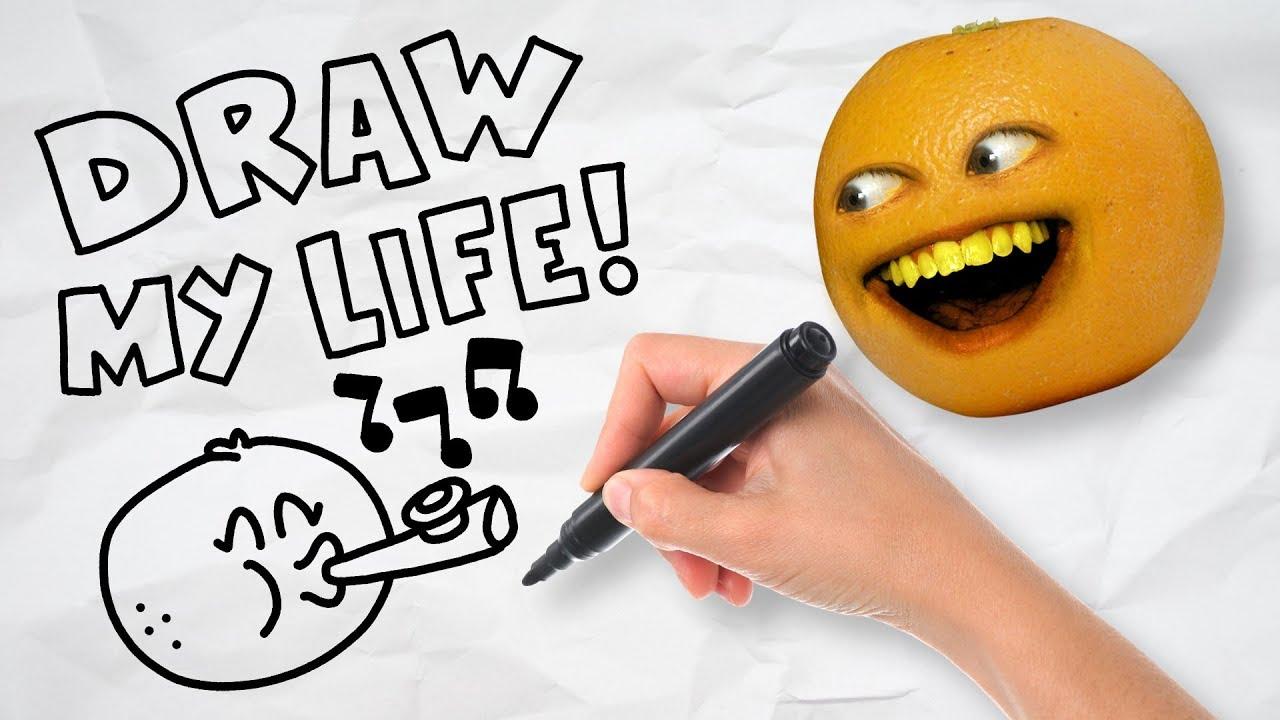 Annoying Orange - Draw My Life!