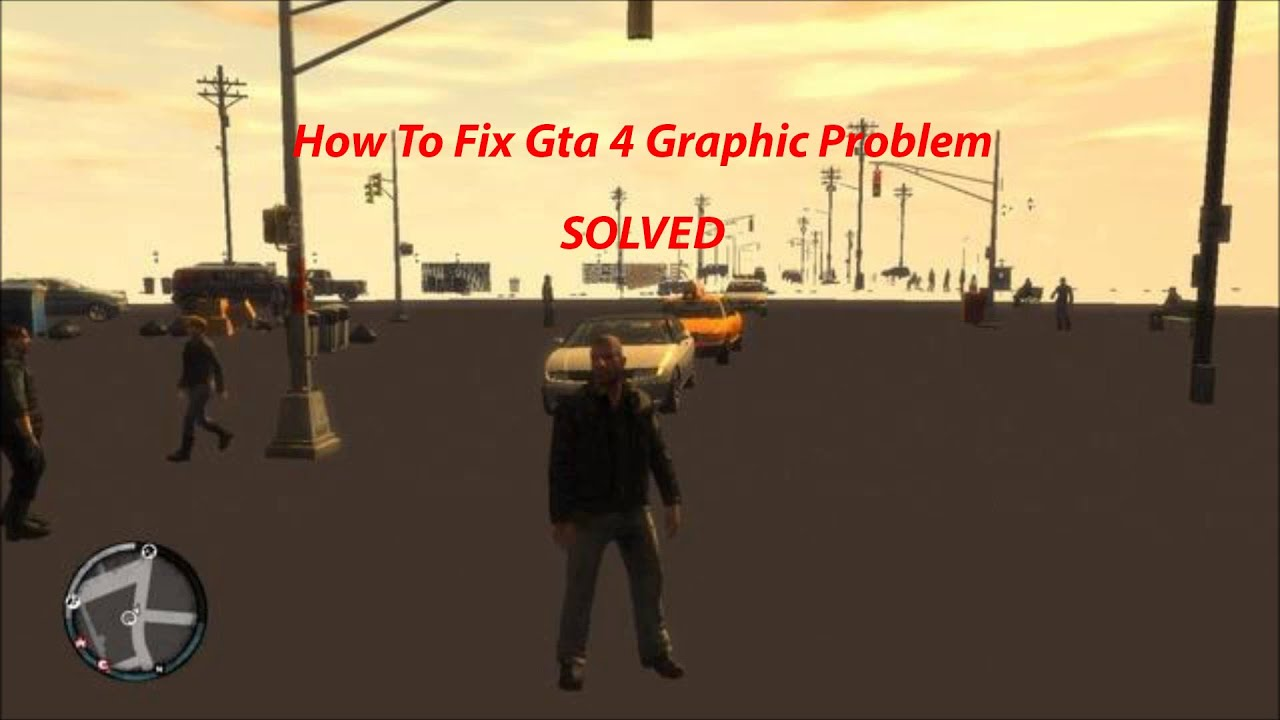 GTA 4 Graphics Problem Fix Windows 7/8/8 1/10 -Graphics Bug Fix :  Commandline txt