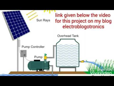 DIY Solar PV water pumping system