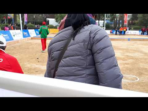 Petanque Junior World Championship 2017/Japan vs Morocco