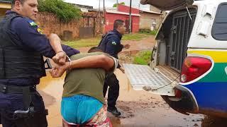 Quadrilha é presa após intensa perseguição em Porto Velho