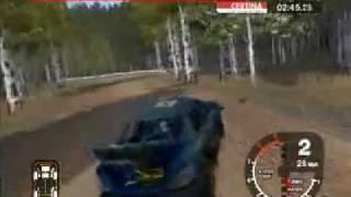Colin McRae Rally 2005 Crashes