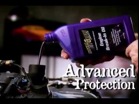 Royal Purple - Advanced Protection Break It In Right From The Start