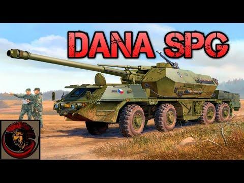 DANA Self Propelled Gun 152mm Mobile Artillery - Overview