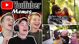 Making and Rating YouTuber Memes ft. ChrisMD & WillNE
