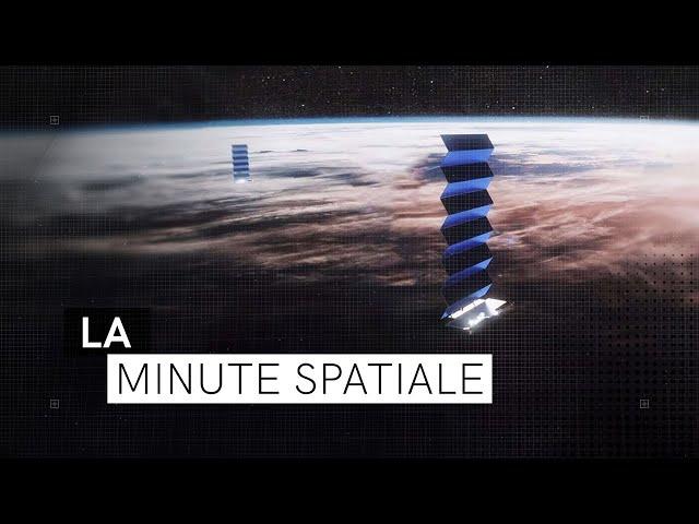 Nouvelle grappe pour Starlink | La Minute Spatiale E03