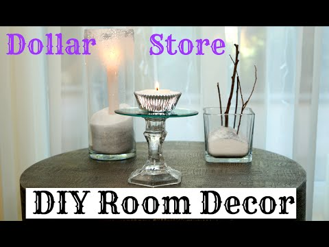 DIY Room Decor for Cheap Dollar Store Decor for the