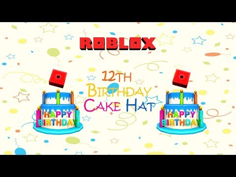 Roblox How To Get 12th Birthday Cake Hat Free Code Expired Roblox 12th Birthday Cake Hat Promo Code Expired Youtube