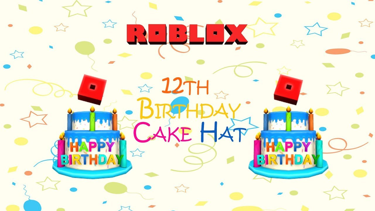 roblox birthday hat code