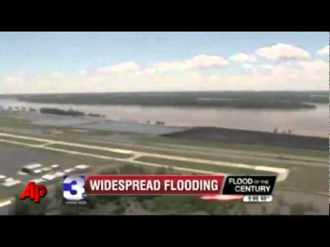 Mississippi River Flooding in Memphis & Tunica