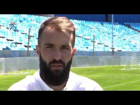 Entrevista a Ángel Martínez, jugador del Real Zaragoza - 4/7/2017