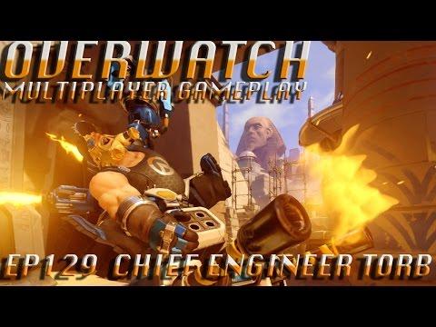 Overwatch Legendary Chief Engineer Lindholm Torbjorn Skin EP 129