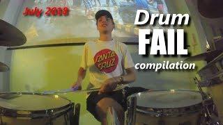 Drum FAIL compilation July 2018 | RockStar FAIL