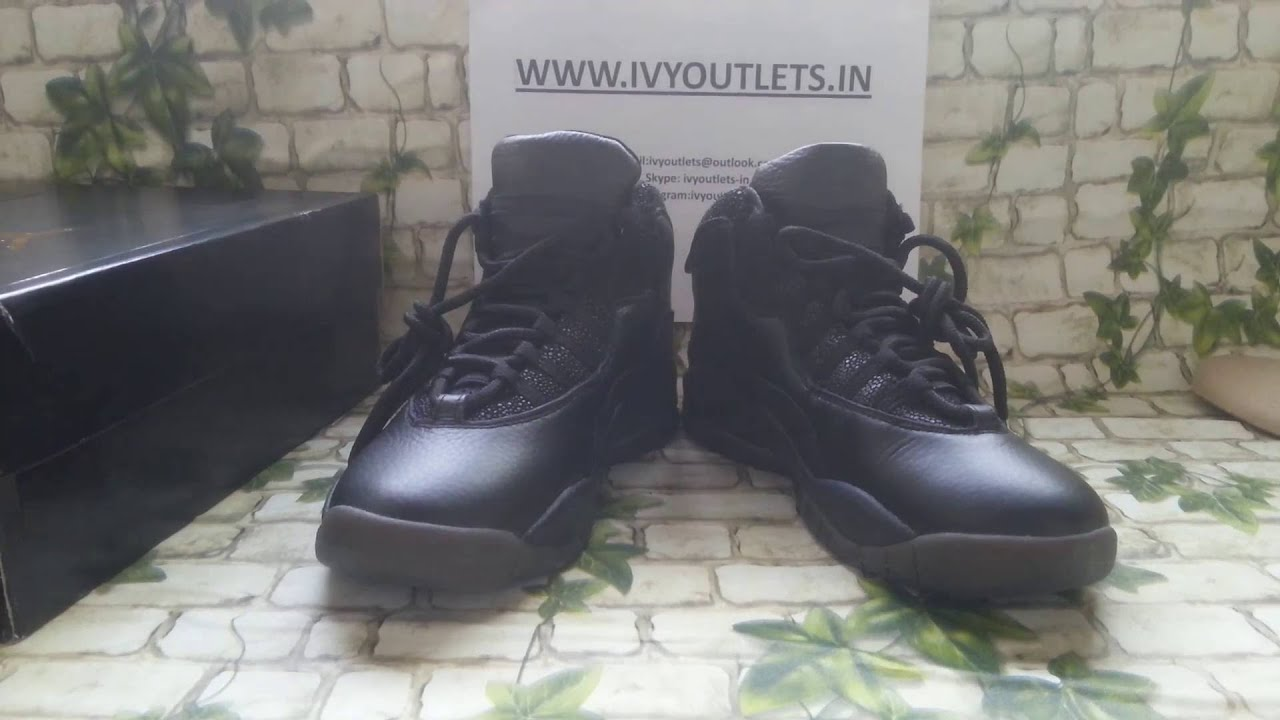 72dd5a88d34b11 ... where can i buy jordan 10 ovo unauthorized authentic air jordan 10 ovo  black from ivyoutlets