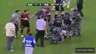 Best Funny Football 9: Fan Fight with Police