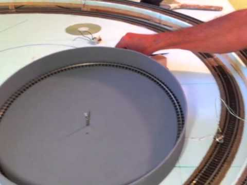 HO Turntable  Construction Part 1