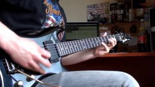 Twisted Sister - The Kids Are Back (Zima guitar cover)