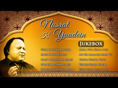 Nusrat Ki Yaadein  All Time Hit Sgs  Nusrat Fateh Ali Khan  Musical Maestros