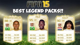 FIFA 15 - LEGEND PACKS!